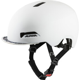 Alpina Brooklyn Helmet, pearl white matt